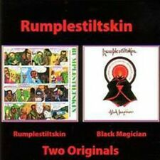 "Rumpelstiltskin:  ""S/T & Black Magician""  (2on1 CD Reissue)"