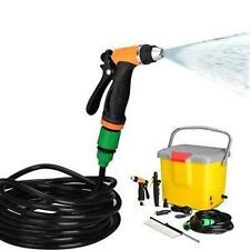 PORTABLE AUTOMATIC CAR WASHER 12 V WITH POWER GUN & BRUSH FOR POWERFUL PRESSURE