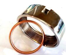 BSA Bantam D14 D175 Exhaust Nut & Copper Sealing Washer 82-8294  82-8295 UK Made