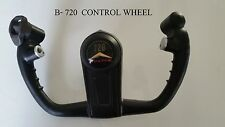 1959 B-720 Control Wheel with Original Cap Column