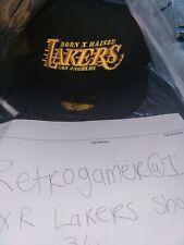 "LA Lakers Born x Raised ""Showtime""  59FIFTY New Era Cap 100% AUTHENTIC 7 3/4"