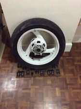 Fzr 1000 Ex up  Rear Wheel With Good Tyre White