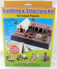 Building & Structure Kit for School Projects - Scene-A-Rama #SP4130