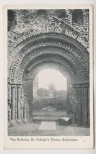 Essex postcard - The Gateway, St Botolphs Priory, Colchester