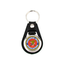 NRA KEYCHAIN 2nd AMENDMENT NATIONAL RIFLE ASSOCIATION LOGO KEY CHAIN