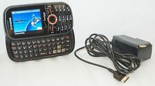 Samsung Intensity Verizon BLACK Cell Phone 1.3 MP Slider Qwerty Keys SCH-U450