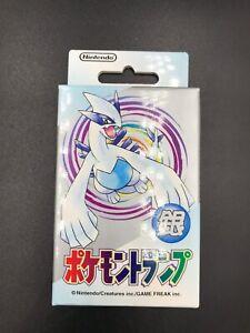 Pokemon Poker Cards Silver Lugia Sealed Unopened Vintage Nintendo New BGS