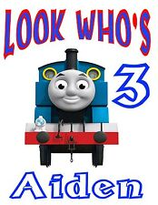 PERSONALIZED CUSTOM Thomas The Train & Friends BIRTHDAY PARTY T SHIRT FAVOR GIFT