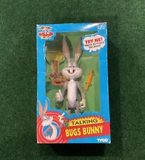Looney Tunes Talking Bugs Bunny Figure By Tyco -1993 - Nib