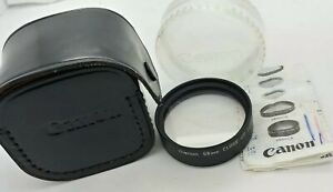 Canon special 58mm CLOSE-UP LENS 240 C-8 LIKE NEW