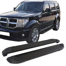 Trittbretter Dodge Nitro | Black | Bj. 2006-2012 | TÜV & ABE | 2010-160-BL | ALU