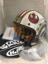 HJC MOTORCYCLE HELMET IS-5 X-WING REBEL FIGHTER PILOT  STAR WARS MATTE   LARGE