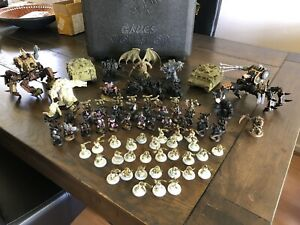 Warhammer 40k Nurgle Chaos Space Marine Army with Defilers 1500 point army
