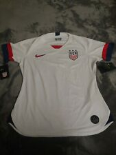 Nike Usa National Team 2018 Stadium Home Jersey Aj4398-100 Woman Size S Nwt