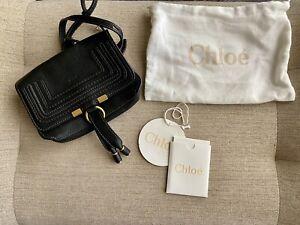 NEW CHLOE Mercie Belt Bag - BLACK