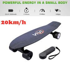 Elektro Skateboard 20km/h E-board Elektrisches Longboard mit Funkfernbedienung