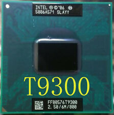 Intel Core 2 Duo T9300 2.50GHz 6M Cache 800 MHz FSB Processor 965 Chipset SLAYY