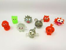 Moshi Monsters Green Orange Clear Glitter Collection Bundle of 9 Moshlings