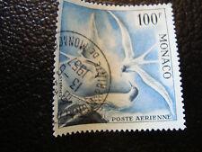 MONACO timbre yvert et tellier aerien n° 66 obl (dentele 13) (A4)stamp monaco(S)