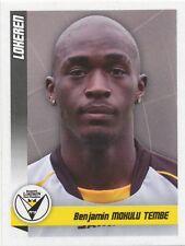 N°308 BENJAMIN MOKULU # CONGO SPORTING LOKEREN STICKER PANINI FOOTBALL 2011