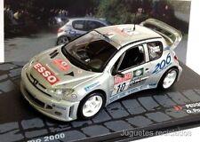 1/43 PEUGEOT 206 WRC PANIZZI RALLY SAN REMO 2000 IXO EAGLEMOSS DIECAST