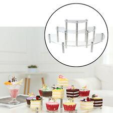 3 Tiers Cupcake Stehen Muffin Kuchen Serive Rack Mini Figuren Display Regal Rack