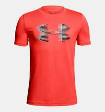 Under Armour Youth Boys' UA Tech Big Logo T-Shirt 1306073-985 Orange Youth M