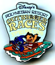 Walt Disney World - Cast Spring 2008 Outrigger Canoe Races - Lilo & Stitch Pin
