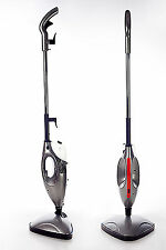BRAND NEW POWERFUL 1500W 2 in 1 HANDHELD STEAM CLEANER AND UPRIGHT STEAM MOP