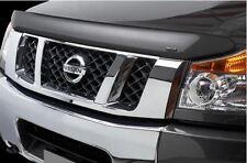 Stampede Bug Shield Vigilante Smoke Plastic Fits 2004-2015 Nissan Titan