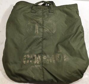 US Issue Military Army Flyers Helmet Bag 8415-00-782-2989 Unicor Green Nylon