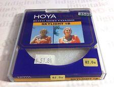 Hoya 82mm Skylight 1B Coated Glass Lens Filter Screw-in Japan 82 mm Skylight1B