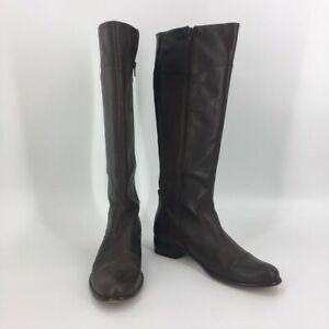Corso Como Womens Boots Brown Mid Calf Zip Up Almond Toe 11 M