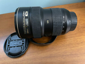 Nikon NIKKOR 16-35mm f/4 AS G SWM AF-S VR IF N M/A ED Lens