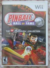 Wii Pinball Hall of Fame : The Williams Collection (Manual, box and game)