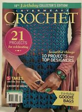 Interweave Crochet Projects for Celebrating Goodie Bag Spr 2016 FREE SHIPPING JB
