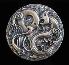 With Antique Brass New! Maori Creatures Design Belt Buckle