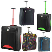 Cabin Suitcase Bag Travel Lightweight Hand Luggage Holiday Case Wheeled Flight