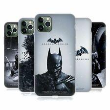 OFFICIAL BATMAN ARKHAM ORIGINS KEY ART SOFT GEL CASE FOR APPLE iPHONE PHONES