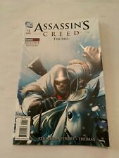 Assassin's Creed The Fall DC Comic Book NO 1 Issue Gamestop Exclusive Edition