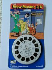 Vintage Tyco View-Master 3D Snow White 3 Reel Set New 1993