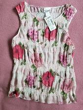 NWT FASHION BUG Top, Size L, Soft Floral