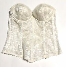 Vtg Womens Corset Womens 34 C Carnival Lace  Preowned