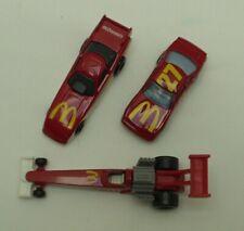 1993 Hot Wheels MCDONALDS THUNDERBIRD #27 NASCAR - Red Ford 1/64 Diecast +2 MORE