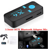 3.5mm Car USB AUX Wireless Bluetooth Receiver Adapter Audio For Home Stereo PC