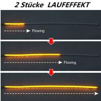 2x 60cm Auto Blinker Fahr-Scheinwerfer Sequentiell LAUFEFFEKT Lampe Universal