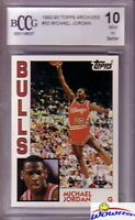 1992/93 Topps Archives #52 Michael Jordan BECKETT 10 MINT 1984 Rookie Design!