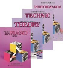 Bastien Piano Basics Level 1  Four-Book Pack (Lesson/Theory/Performance/Technic)