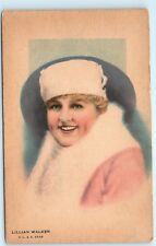 Lillian Walker V.L.S.E. Star American Actress Antique Old Vintage Postcard C82