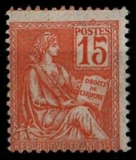 MOUCHON 15c orange n°117, Neuf ** = Cote 35 € / Lot Timbre France